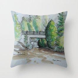 Rockwood Sketch Throw Pillow