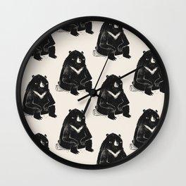 logbear Wall Clock