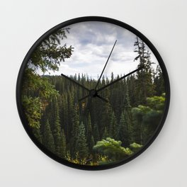 Trees of Ouray Wall Clock