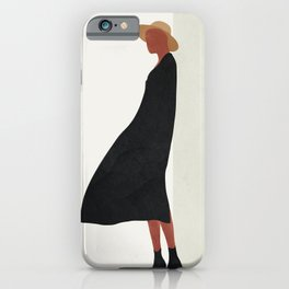 Squared Model Flow iPhone Case