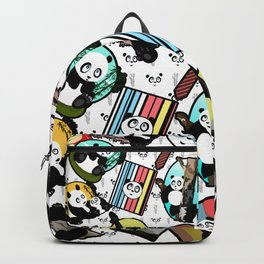 Panda Mix Backpack