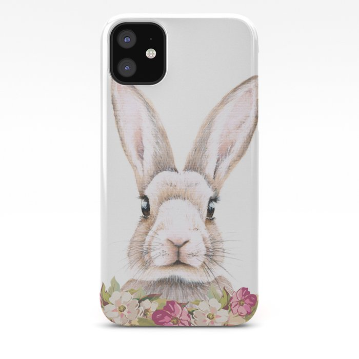 Something about Love and Bunnies iPhone 11 case
