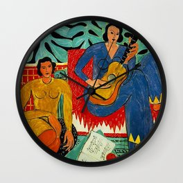 Good Girls by Henri Matisse  Wall Clock
