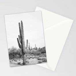 Desert Cactus BW Stationery Cards