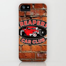REAPERS CAR CLUB INTERNATIONAL iPhone Case