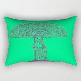 Mushroom purple Rectangular Pillow