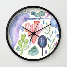 Sea Life Wall Clock