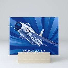 English Electric Lightning F.3 Mini Art Print