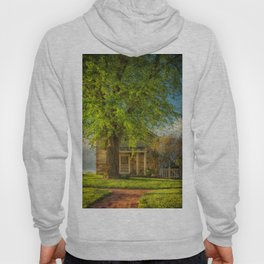 The Stone Cottage On A Spring Evening Hoody