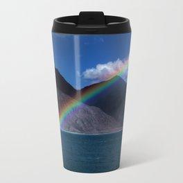 The Rainbow at Pangong! Travel Mug
