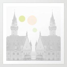 Dots//TwentyOne Art Print