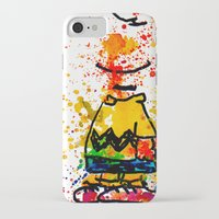 charlie brown iPhone & iPod Cases featuring Charlie Brown by benjamin james