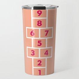 Hopscotch Pink Travel Mug