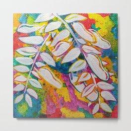 Leaves on the World Tree: Bemba Muombo Metal Print