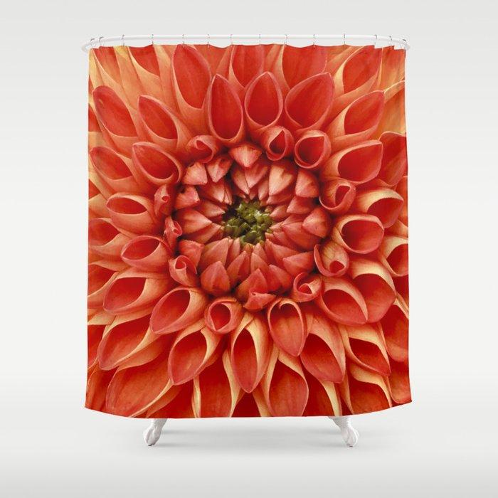 Dahlia Shower Curtain By Theflowersh0p