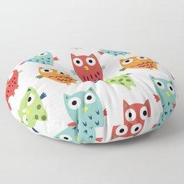 Owl Fun Floor Pillow