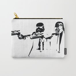 """Darth Vader - Say """"What"""" Again! Version 3 BW Inverted Carry-All Pouch"""
