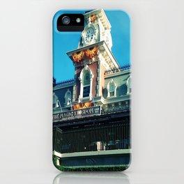 Fall MK Train Station 1 iPhone Case