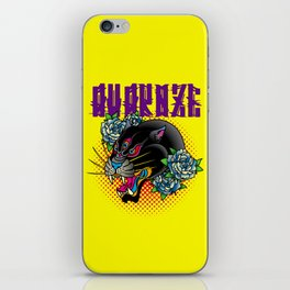 AVZ-TT-PANTHER canary iPhone Skin