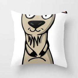 Lé Goat Throw Pillow