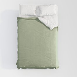CELADON GREEN solid color Comforters