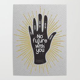 No future..... Poster