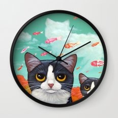 MIRACLE FROM ABOVE Wall Clock
