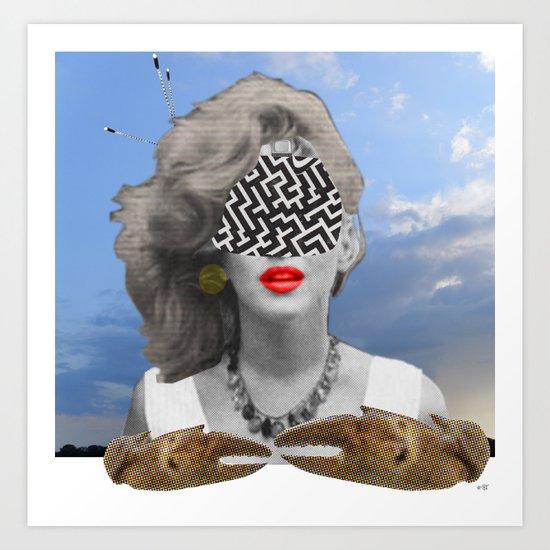 I had a dream, last night... Art Print