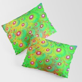 A Crash of Colors, fantasy art Pillow Sham