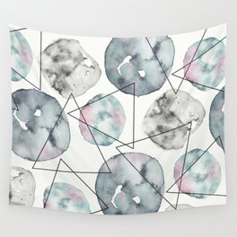 Orbiting Asteroid Pattern Wall Tapestry