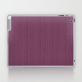 Grape Nectar Wood Grain Color Accent Laptop & iPad Skin