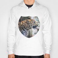 jaguar Hoodies featuring Jaguar by Veronika