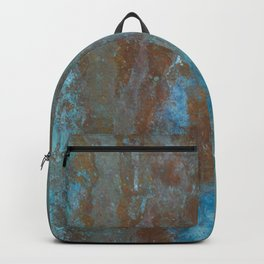 Patina Bronze rustic decor Backpack