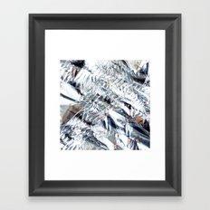 Crunchy frost Framed Art Print