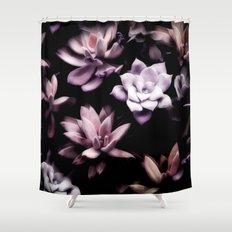 Succulent PATTERN II Shower Curtain