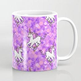Unicorns in Purplespace Coffee Mug