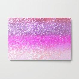 Unicorn Girls Glitter #1 #shiny #decor #art #society6 Metal Print