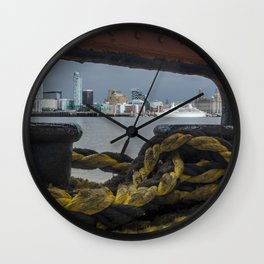 Ferry cross the Mersey Wall Clock