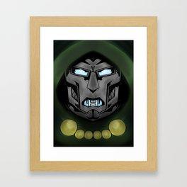 Dr doom Framed Art Print