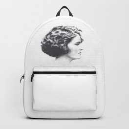 A portrait of Zelda Fitzgerald Backpack