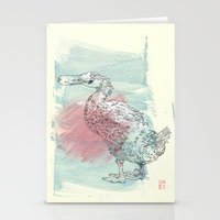duck Stationery Cards featuring duck by Sabine Israel