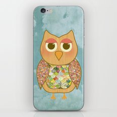 Woodland Owl in a Tree iPhone & iPod Skin