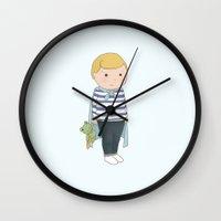 toddler Wall Clocks featuring Sandman - Toddler by Little Moon Dance