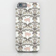 pig damask Slim Case iPhone 6