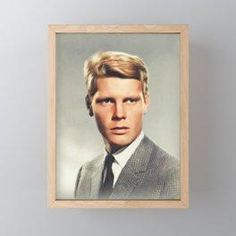 James Fox, Actor Framed Mini Art Print