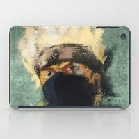 kakashi iPad Cases featuring Grunge Copy Ninja by jpmdesign
