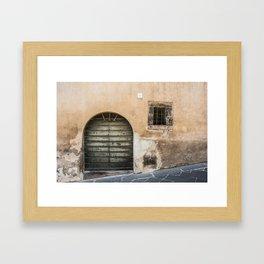 Door number twelve Framed Art Print