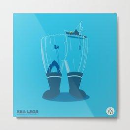 Sea Legs Metal Print