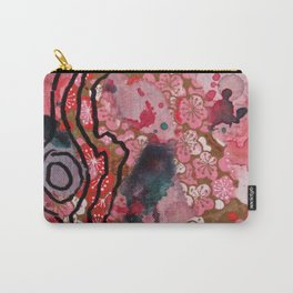 Wilder Borders: Loose Associations Carry-All Pouch