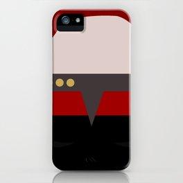 Captian Katherine Janeway - Minimalist Star Trek: Voyager VOY - trektangle - startrek trektangles iPhone Case